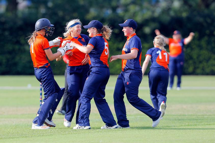 The Dutch arrive at La Magna Club ranked 23rd in the world ©ICC