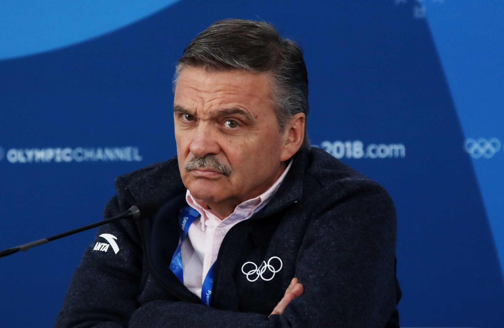 The IIHF President, currently René Fasel, will in future no longer be an employee of the organisation ©Getty Images