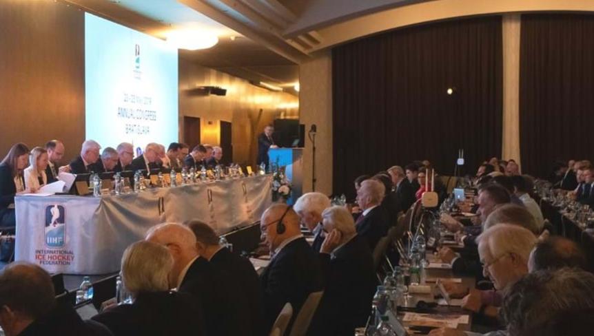 The IIHF Council will grow from 13 to 14 members ©IIHF