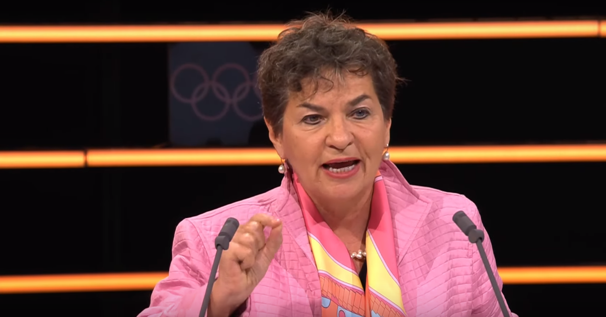 Former UN Climate Change chief praises IOC sustainability initiatives but urges them to take even greater leadership role