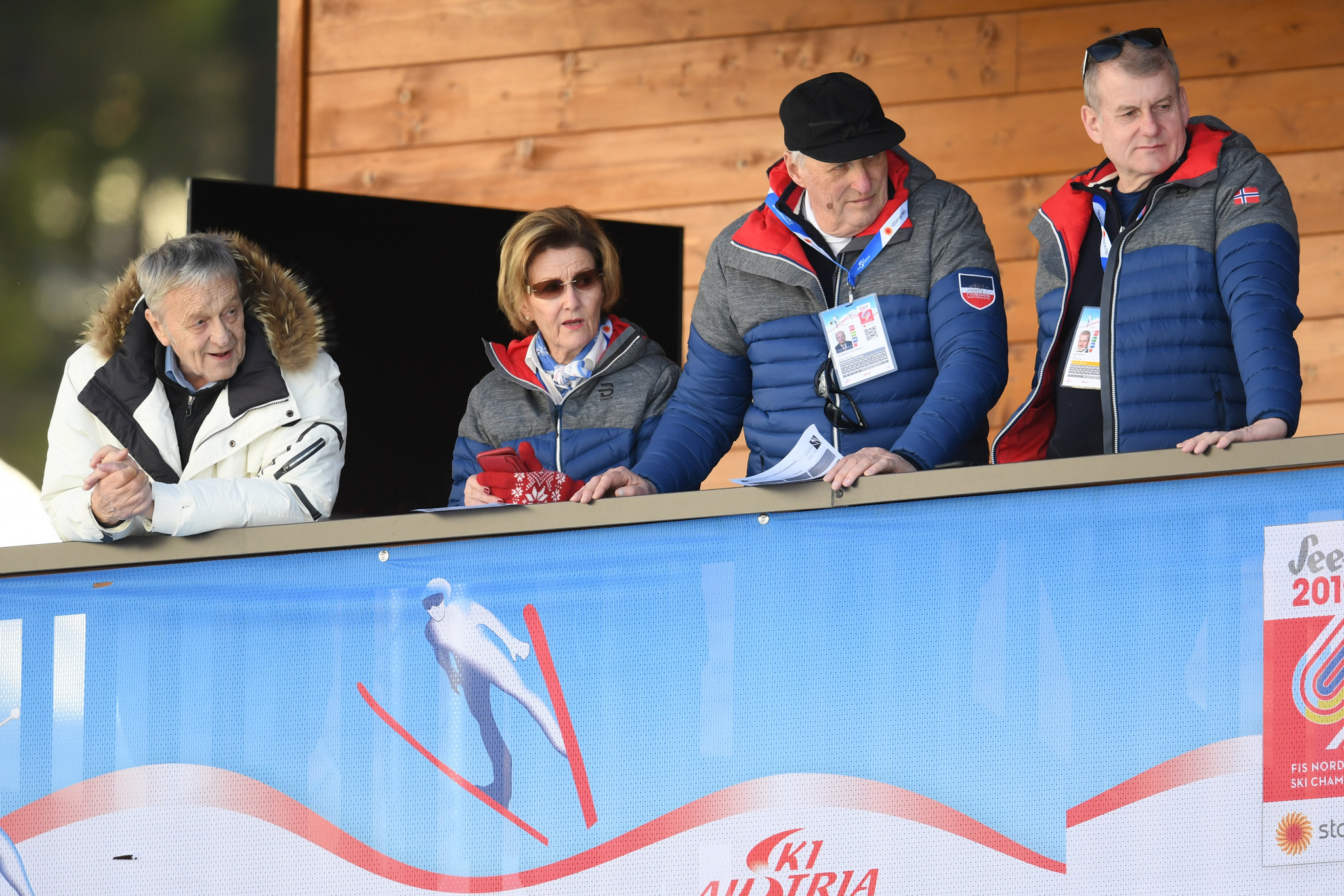 FIS President Gian-Franco Kasper, left, was criticised earlier this year for referring to