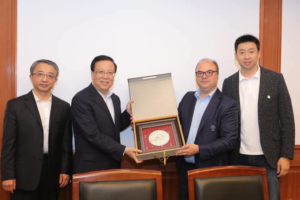 Meetings have already been held at Peking University ©FISU
