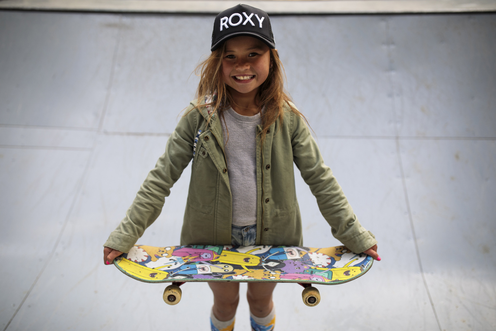 Ten-year-old skateboarder gets further boost in bid for Tokyo 2020 place