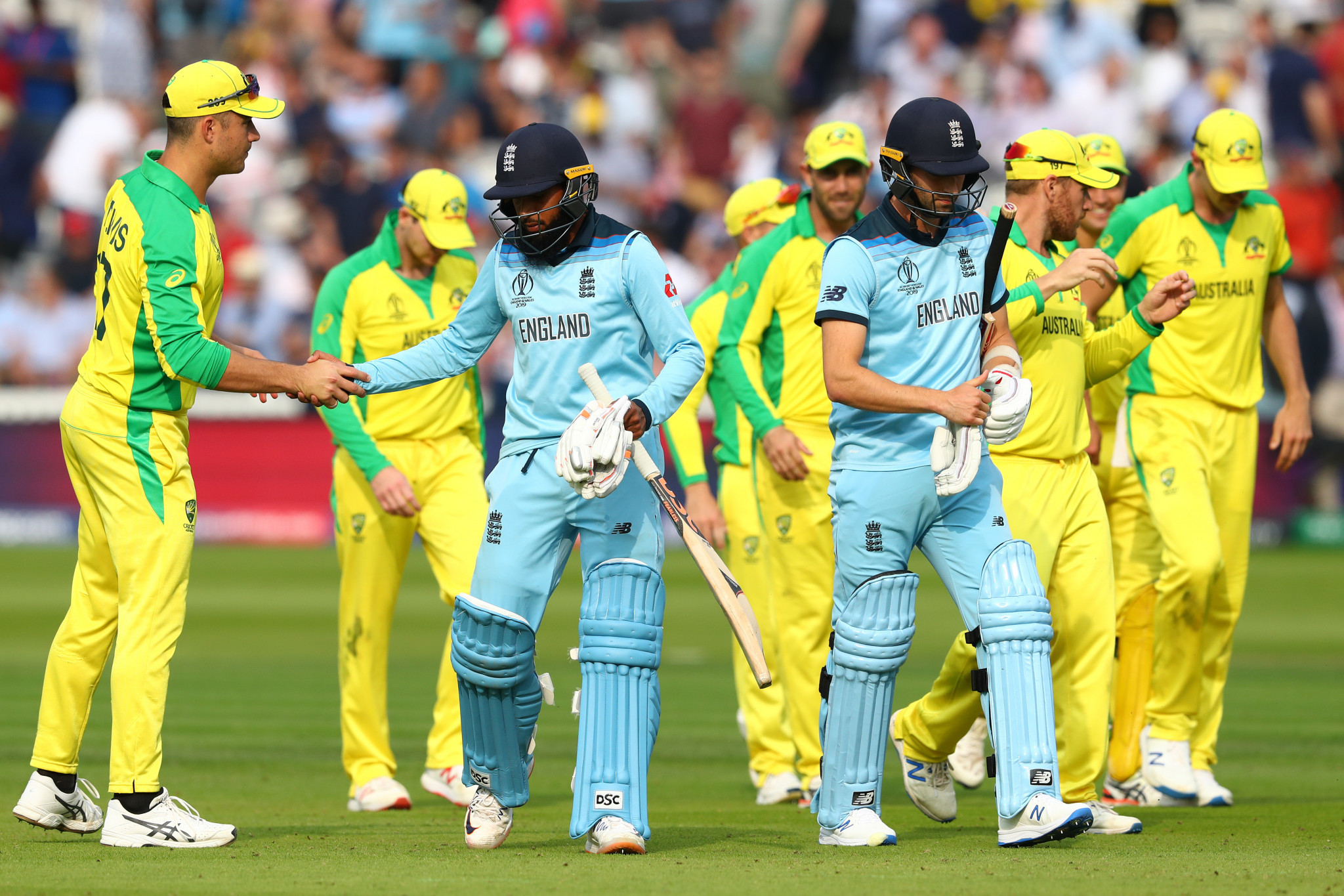 Hosts England suffer damaging defeat against Australia at Cricket World Cup