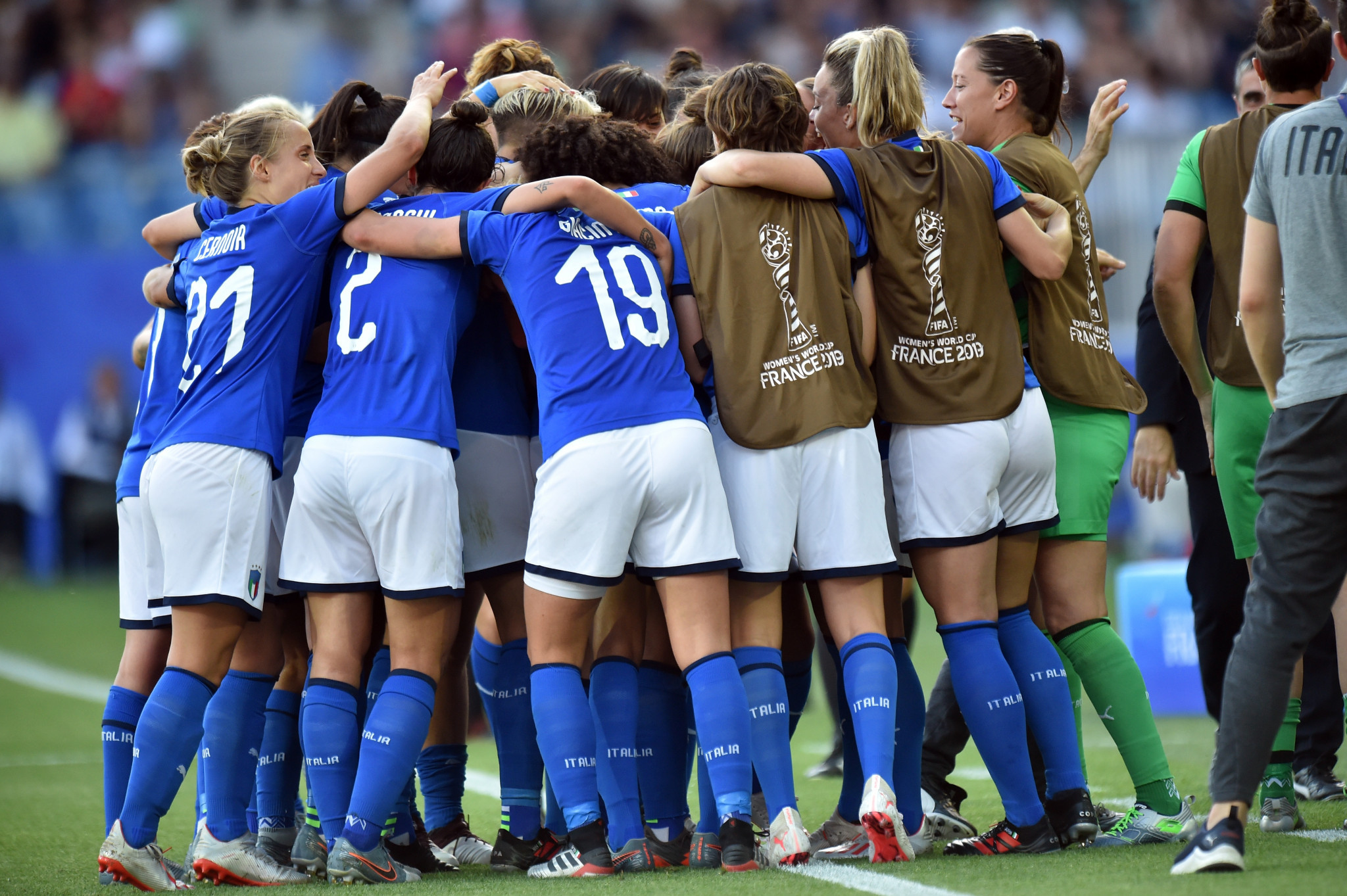 Italy see off China to earn quarter-final place at FIFA Women's World Cup