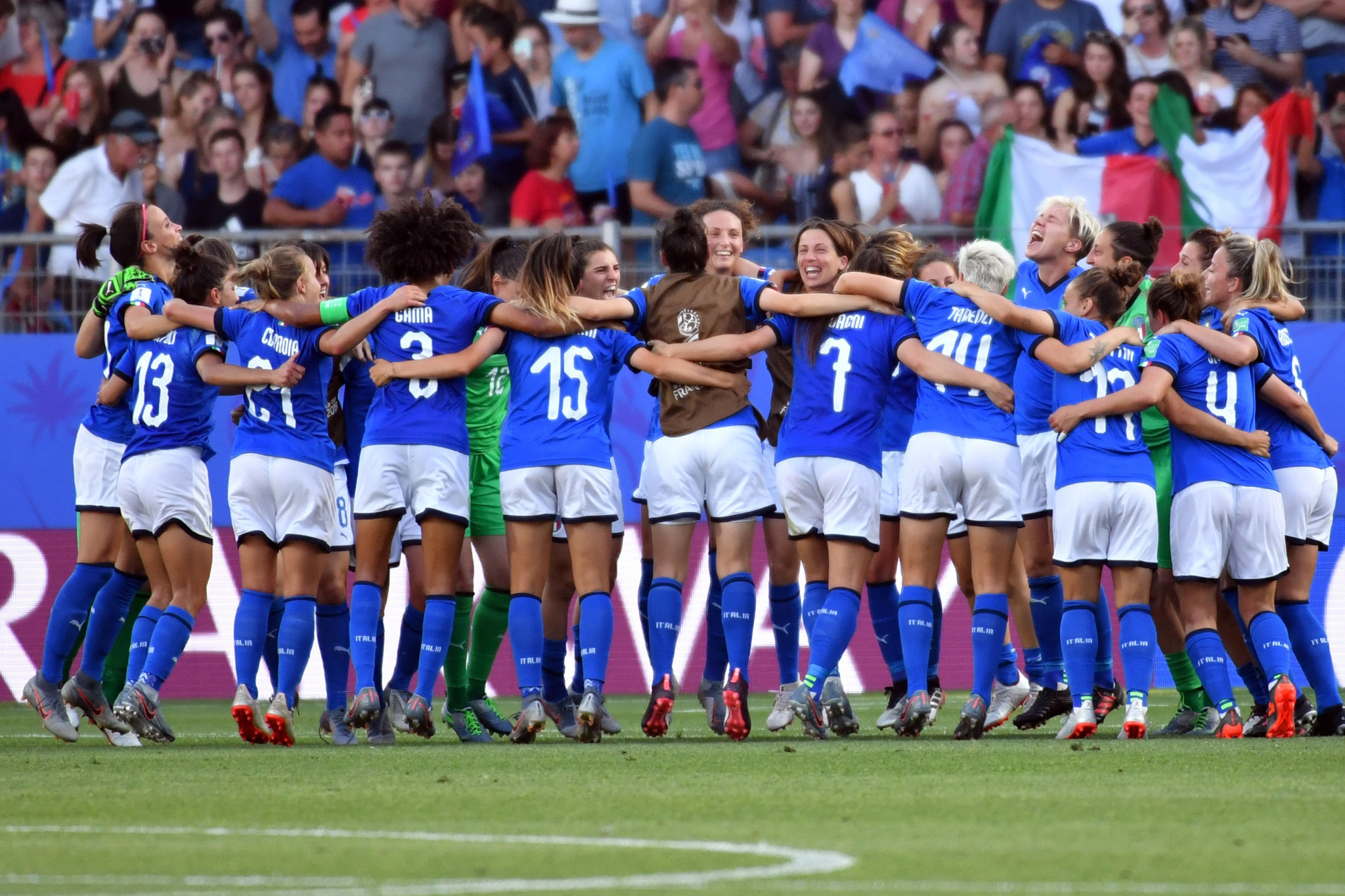 Italy and Netherlands complete quarter-final line-up at FIFA Women's World Cup