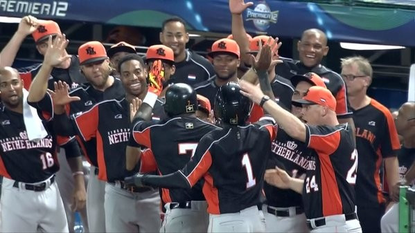 Dutch delight on second day of WBSC Premier12 as The Netherlands beat hosts Taiwan