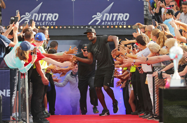 Usain Bolt backed the Nitro Games initiative in Australia in 2017, but it has since to re-appear ©Getty Images
