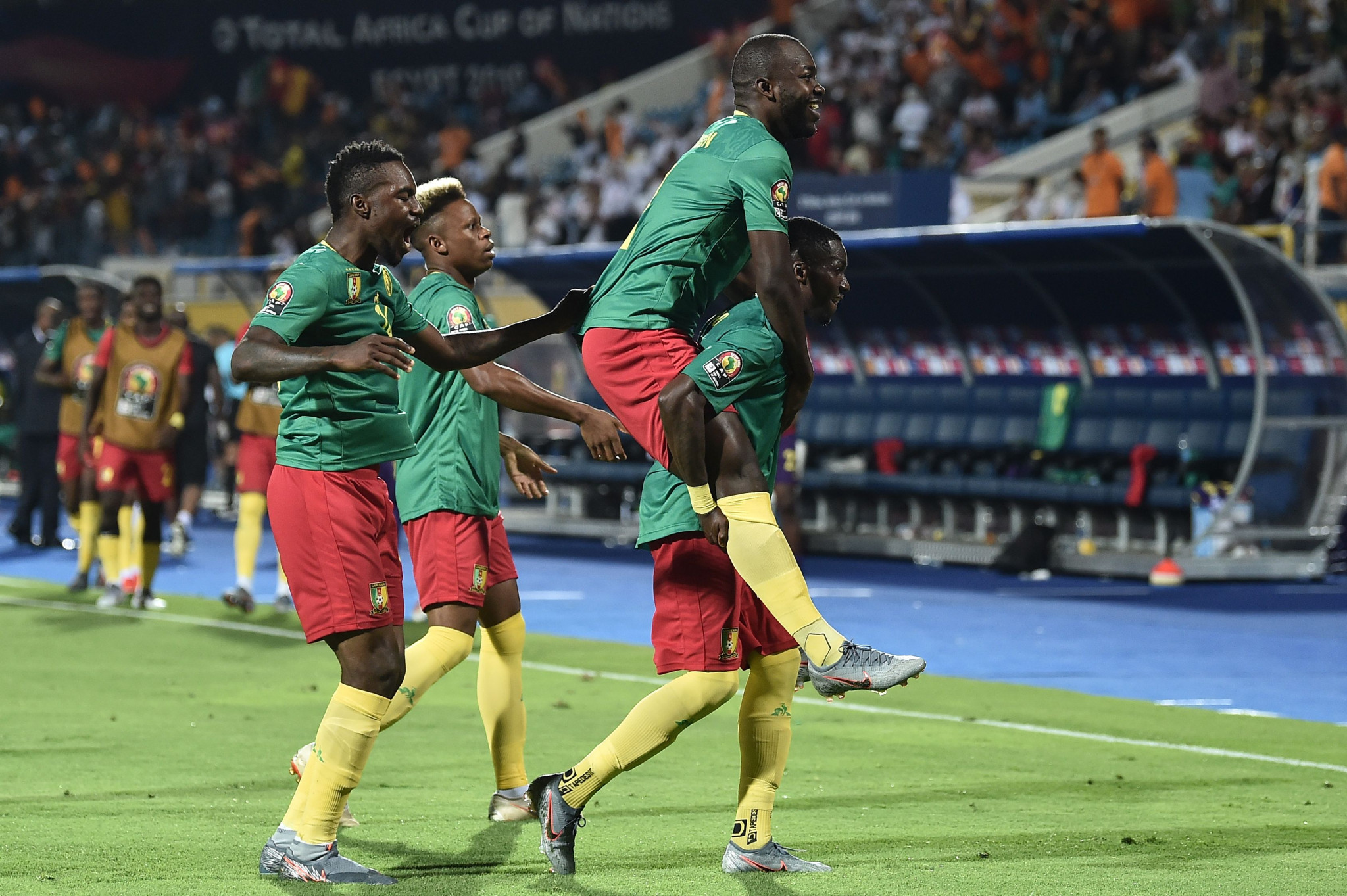 Cameroon put off-field dramas aside to claim opening Africa Cup of Nations victory