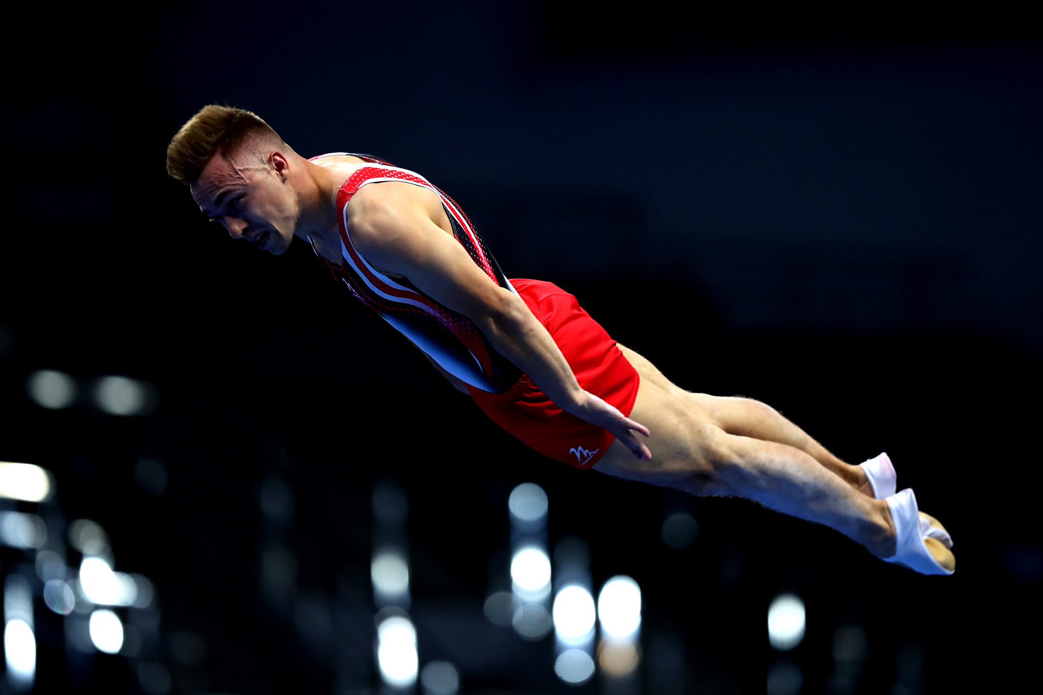 There was more success for Belarus in the trampoline gymnastics, with Rio 2016 Olympic champion Uladzislau Hancharou winning the men's individual event ©Getty Images