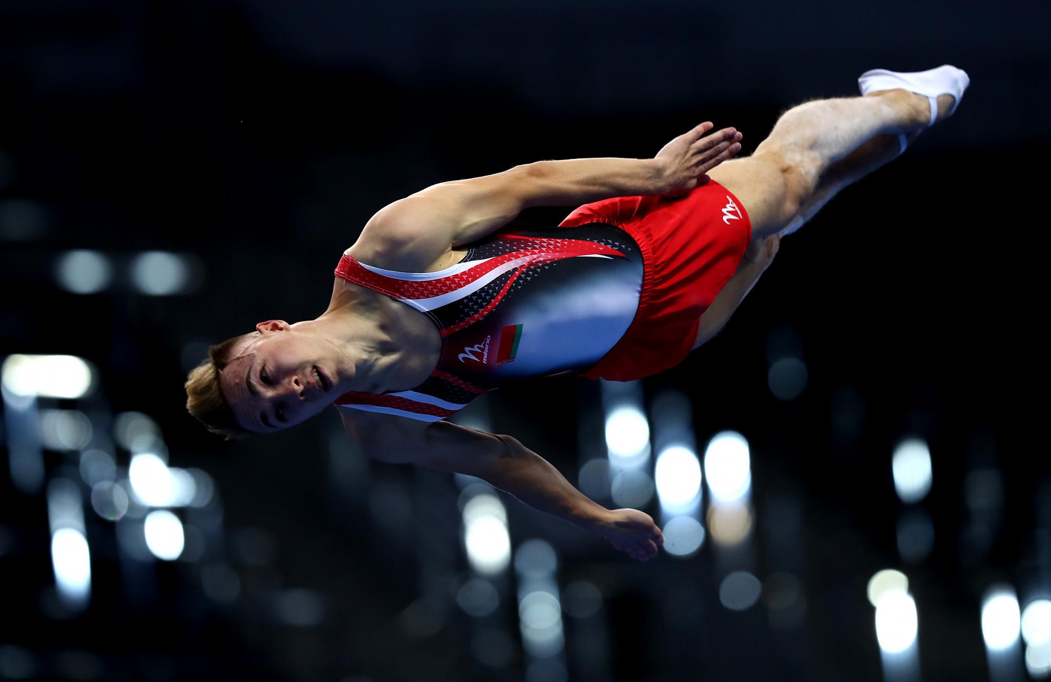 Rio 2016 champion Hancharou earns trampoline gold at European Games