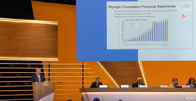 Finance Commission chairman Ser Miang repeated the assertion that Pyeongchang 2018 achieved a surplus of at least $55 million ©IOC Media