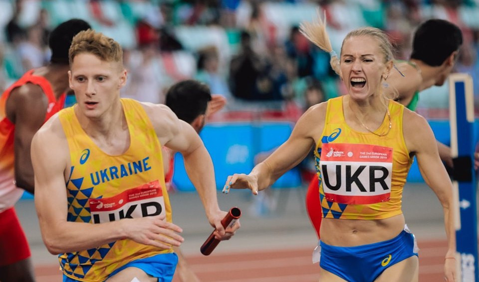 Mixed relays are among the innovations of Dynamic New Athletics currently taking place at the European Games ©Minsk 2019