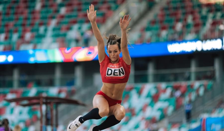 For all the talk of it being a gimmick, events like the long jump still take place as part of Dynamic New Athletics ©Minsk 2019