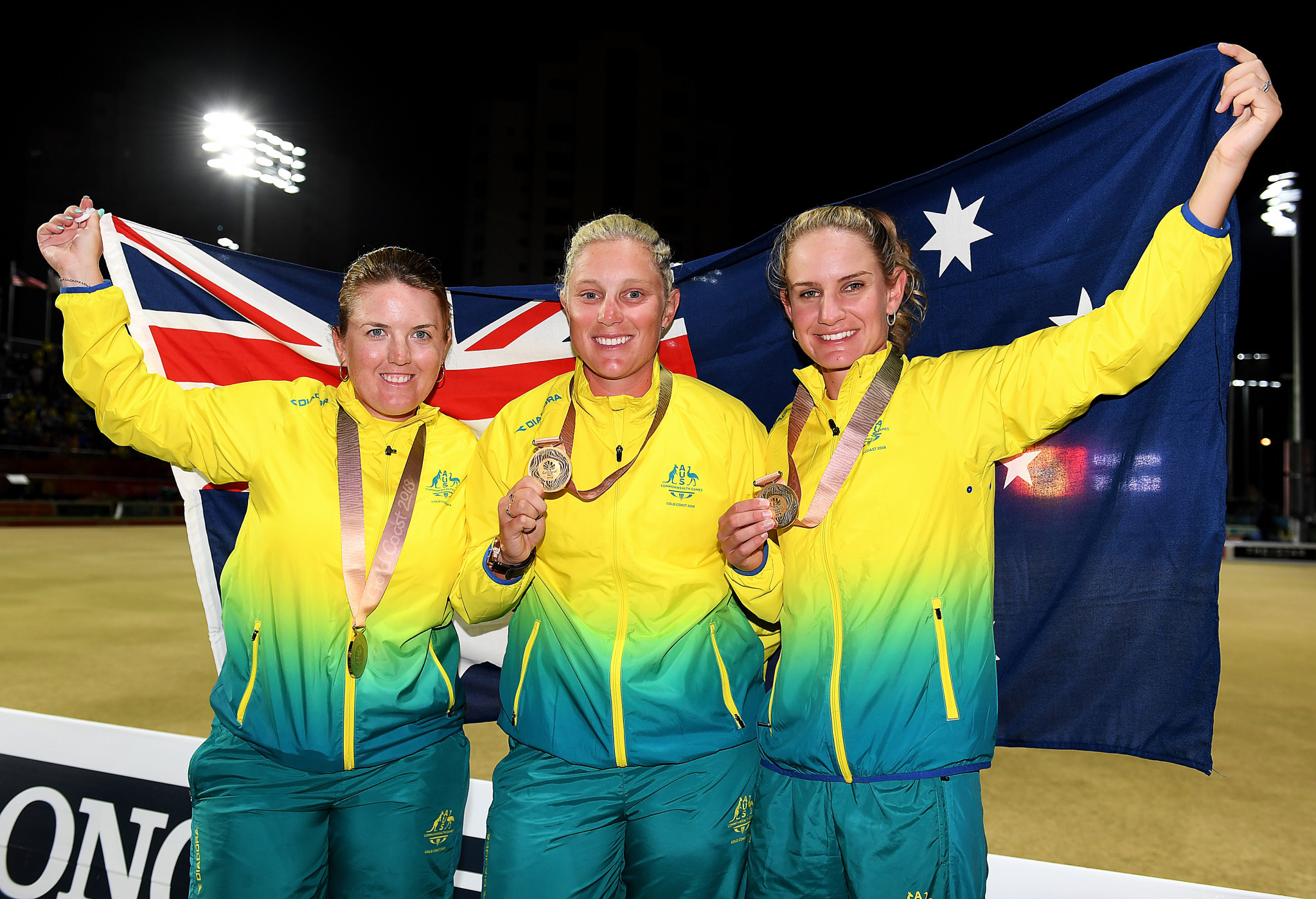 Australian triples team impress again as section play ends at Asia Pacific Bowls Championships