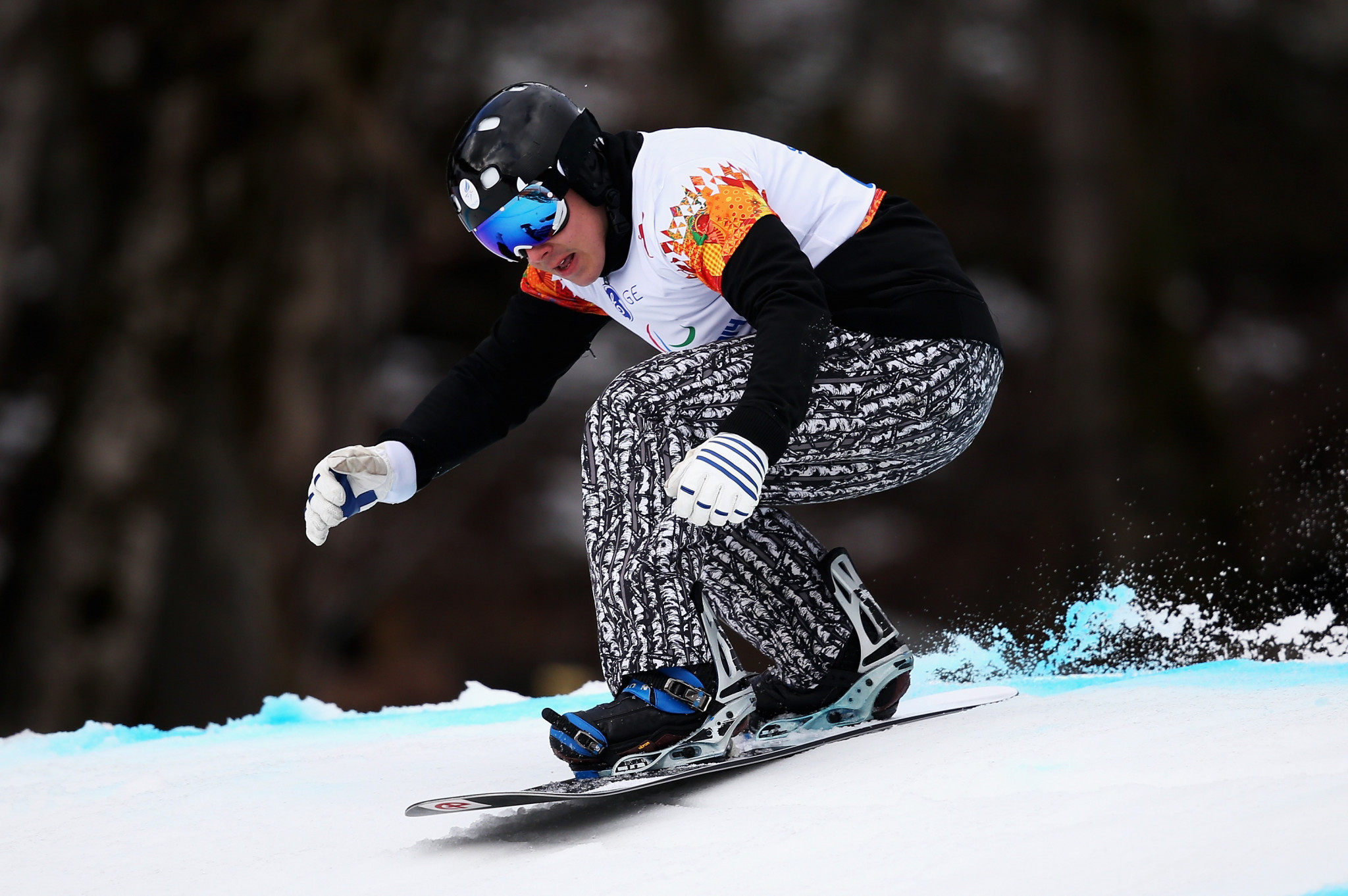 Snowboarder Matti Suur-Hamari won Finland's only Paralympic gold medal at Pyeongchang 2018 ©Getty Images