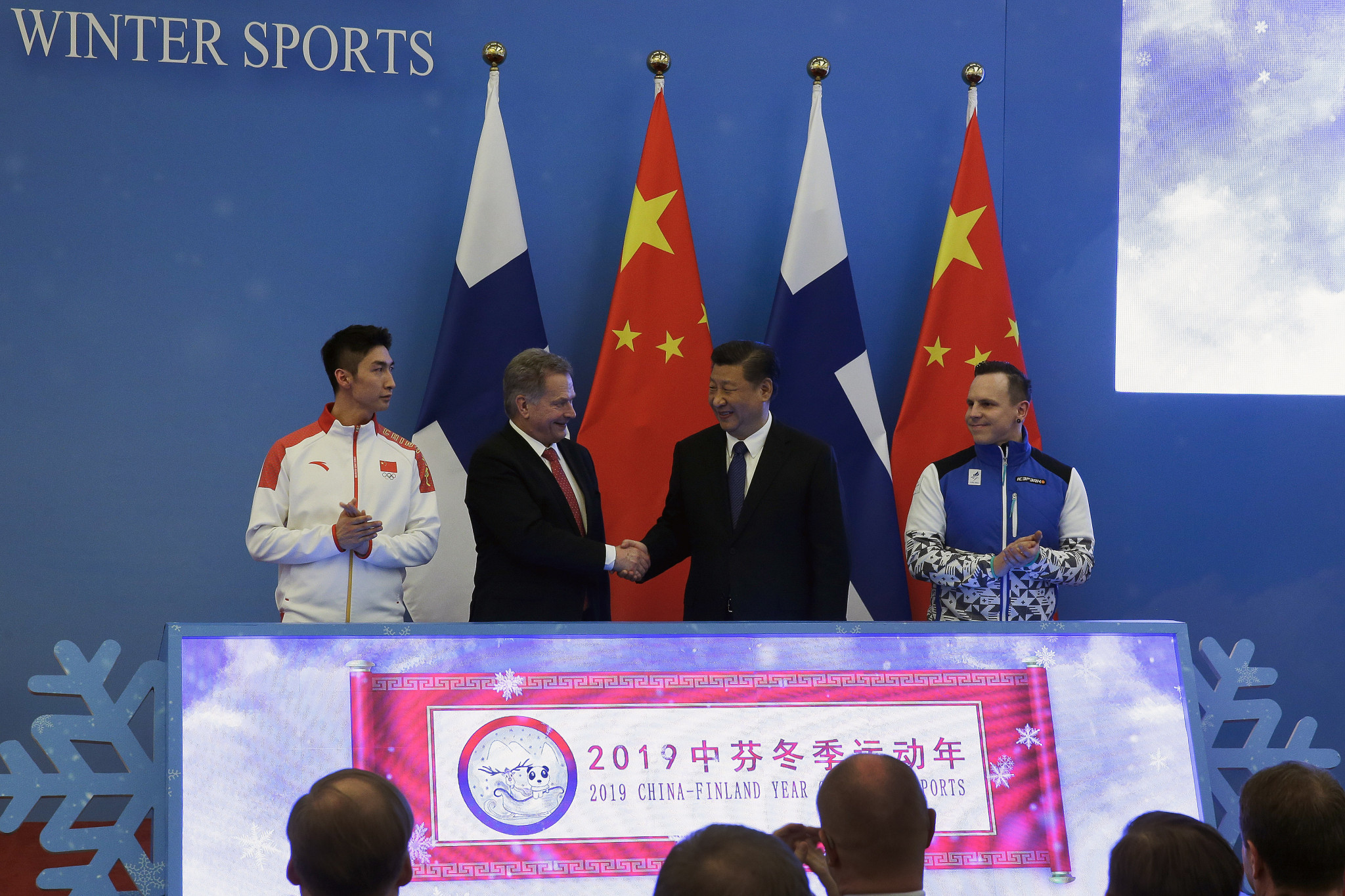 In January, Finland and China launched the
