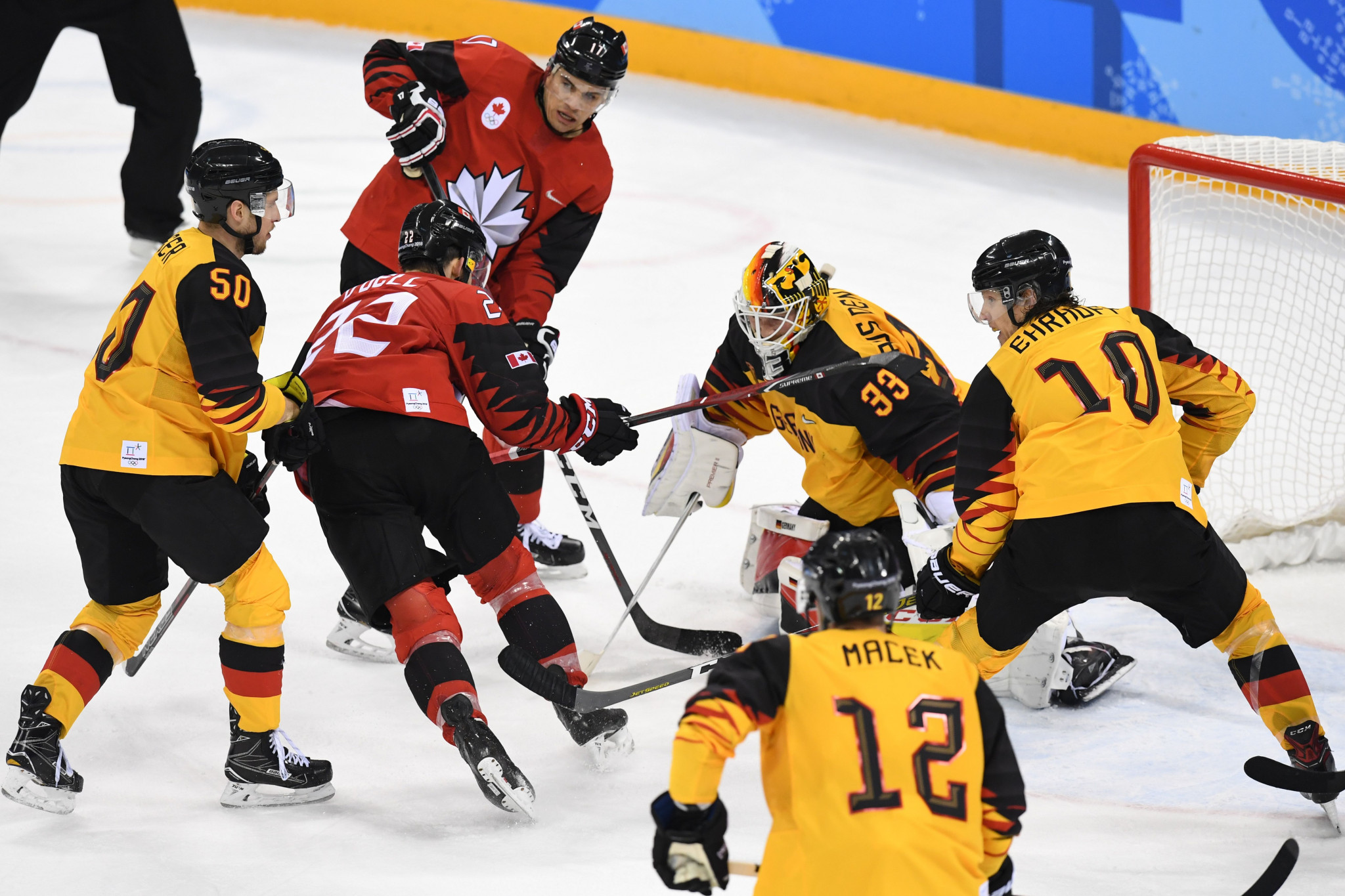 The NHL did not sanction its players to appear at the Pyeongchang 2018 Winter Olympics ©Getty Images