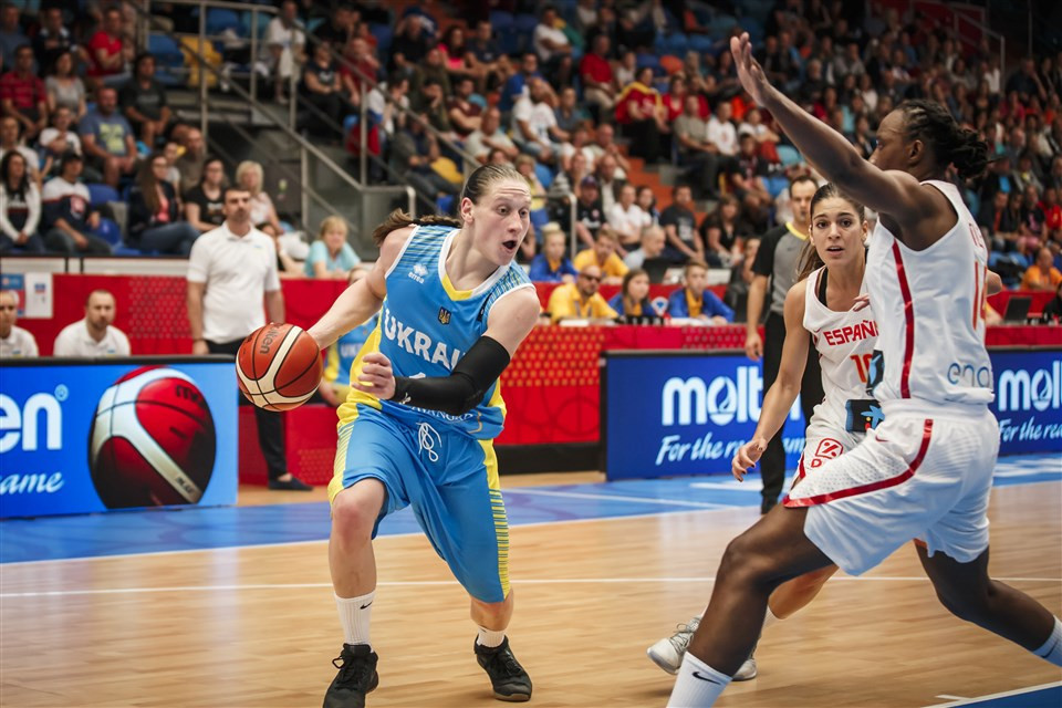 Ukraine are among the 16 teams competing at the event ©FIBA