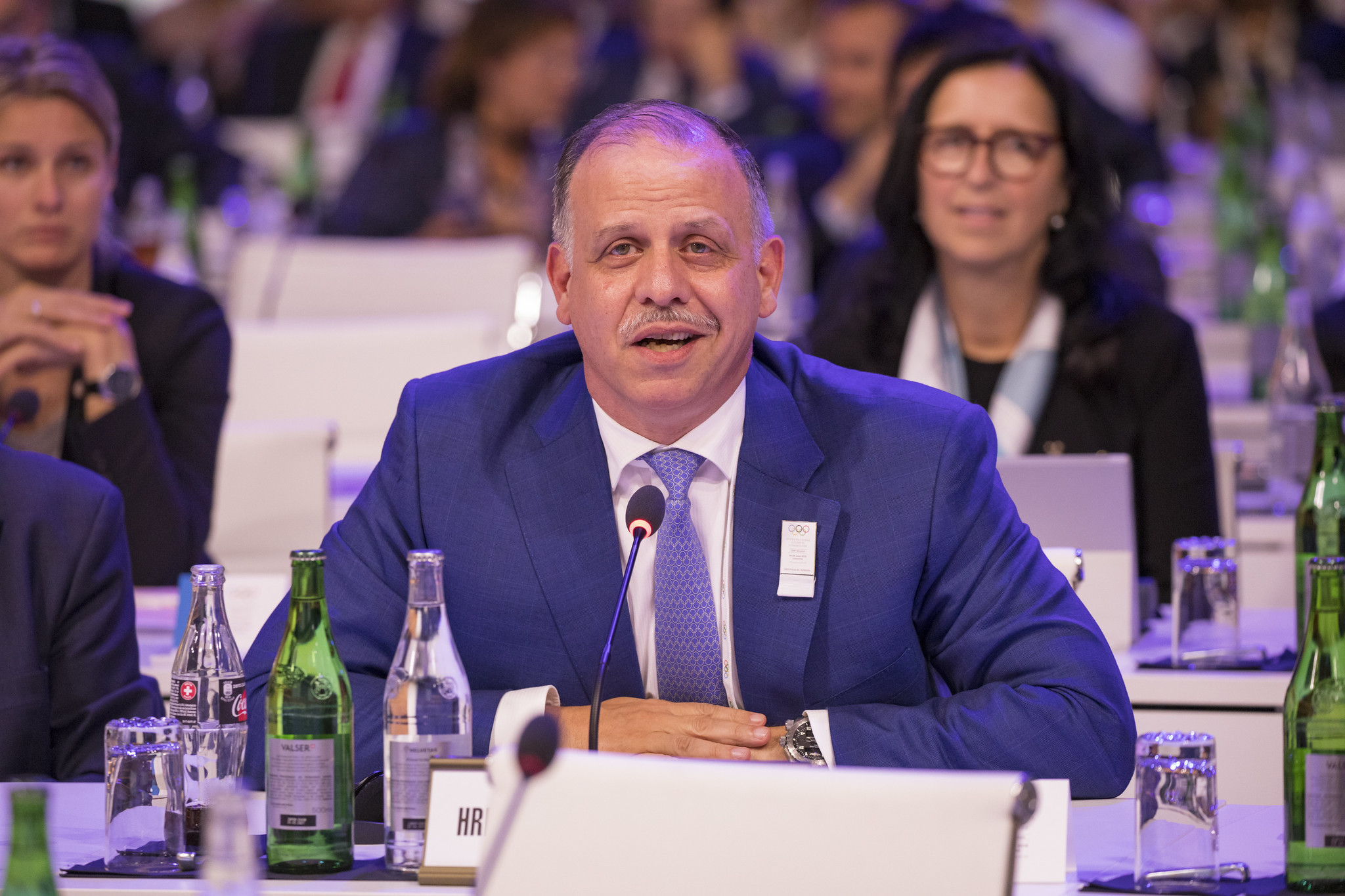 Prince Faisal Al Hussein will assume his position on the IOC Executive Board will immediate effect ©IOC