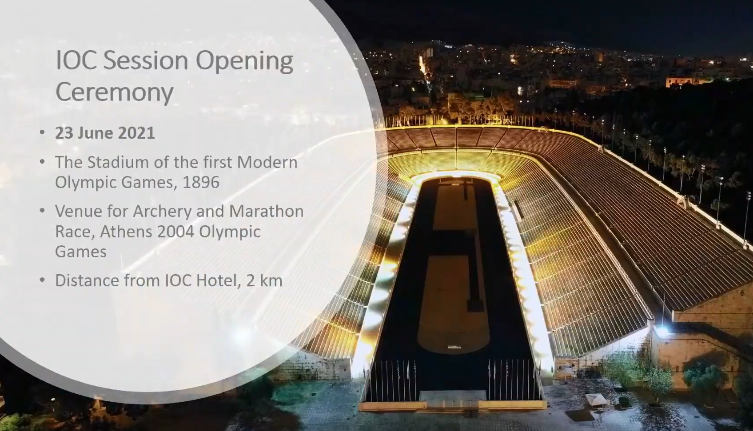 Athens has been awarded the IOC Session in 2021 - the first time it will have staged it since 2004 ©IOC