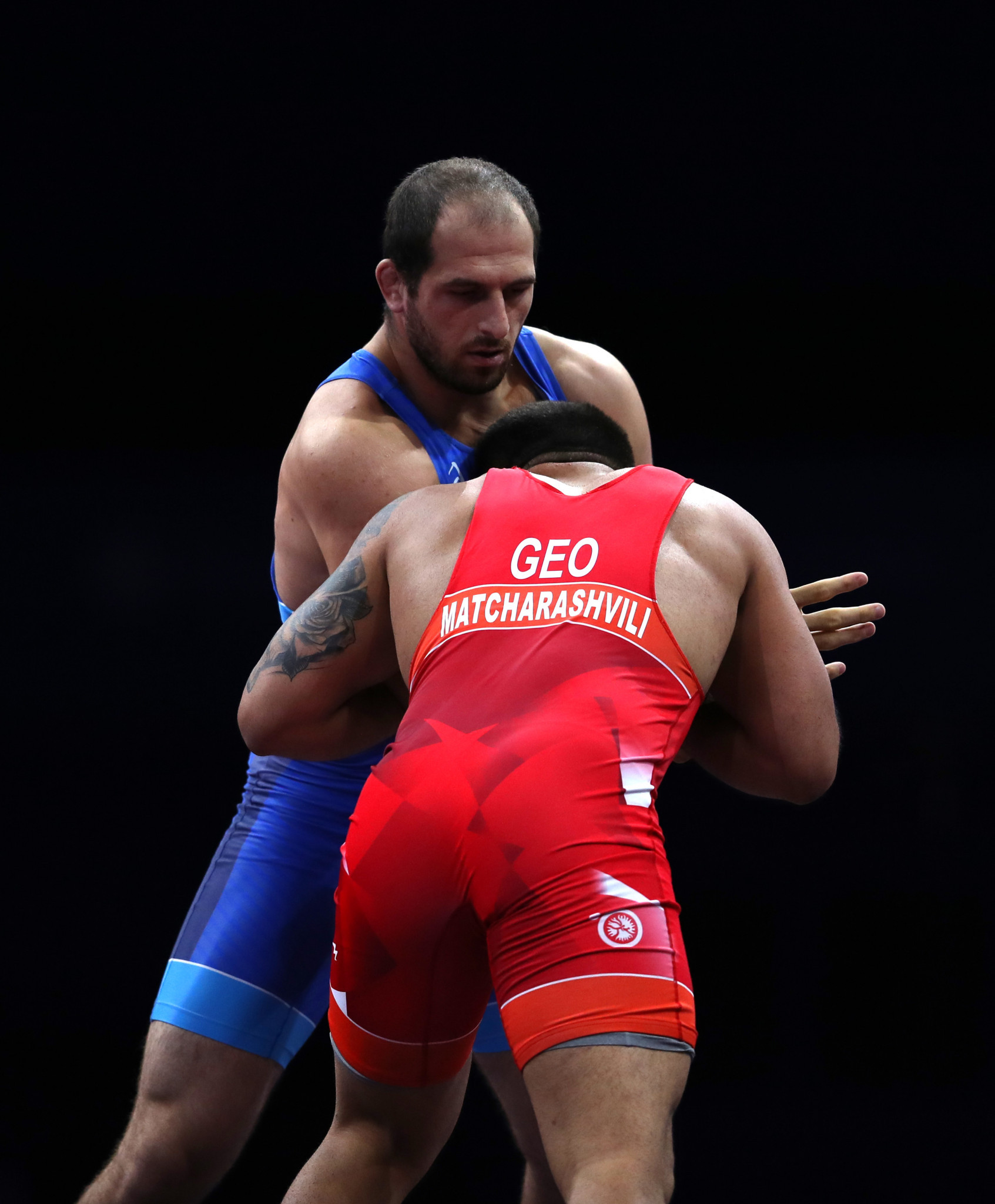 Khizniev earns men's 125kg title as Russia win three golds from four in opening medal night of men's freestyle wrestling at Minsk 2019