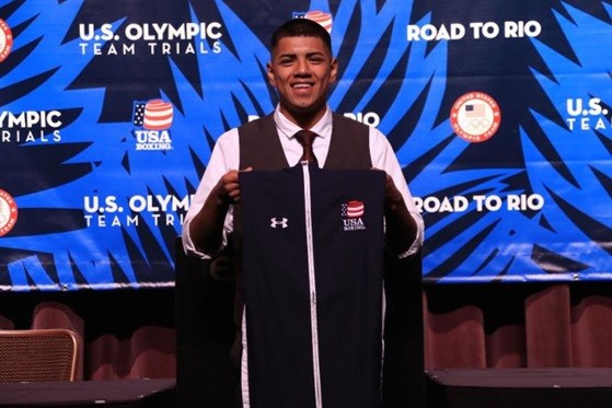 Balderas secures first spot on United States men's boxing team for Rio 2016