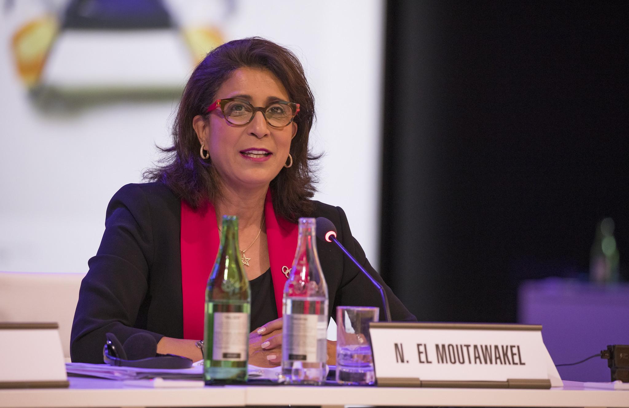 Nawal El Moutawakel will serve her latest stint on the IOC Executive Board from January ©IOC