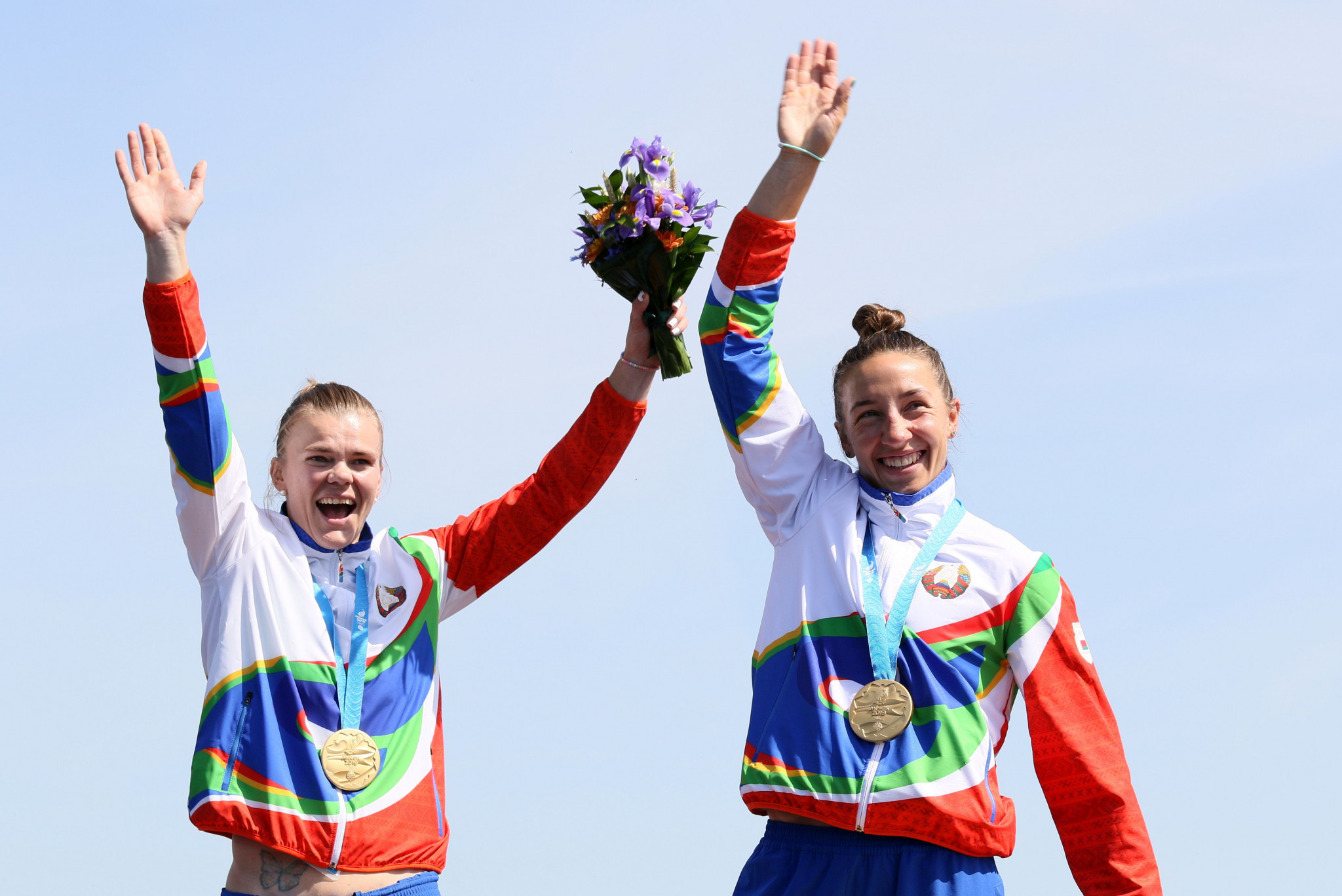 Belarus K2 500m canoe sprint pair beat Hungary's world champions to gold at Minsk 2019