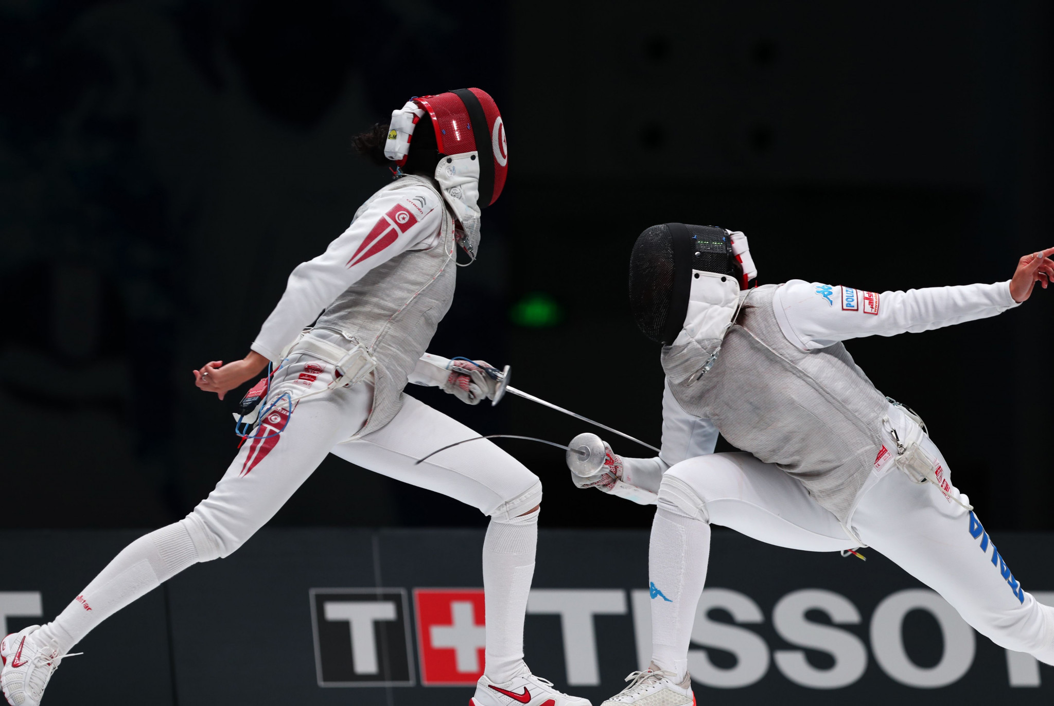 Rio 2016 Olympic bronze medallist Inès Boubakri claimed the women's foil title as action continued today at the African Fencing Championships in Bamako ©Getty Images