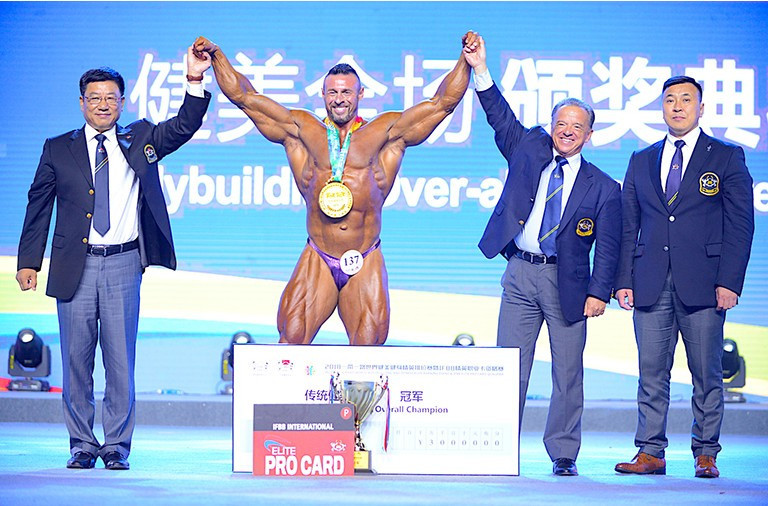 Zhang appointed President of Asian Continental Federation of Bodybuilding and Fitness