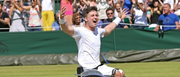 Reid claims top spot in ITF Wheelchair Tennis Doubles Rankings