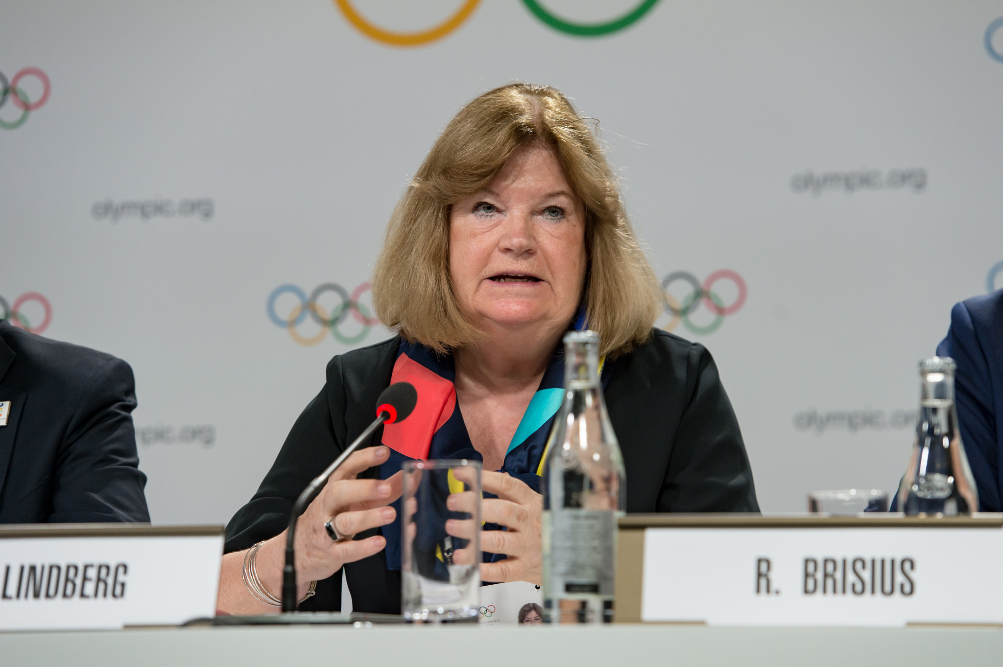Secretary general Gunilla Lindberg says ANOC is confident Qatar will deliver the Games on time ©Getty Images