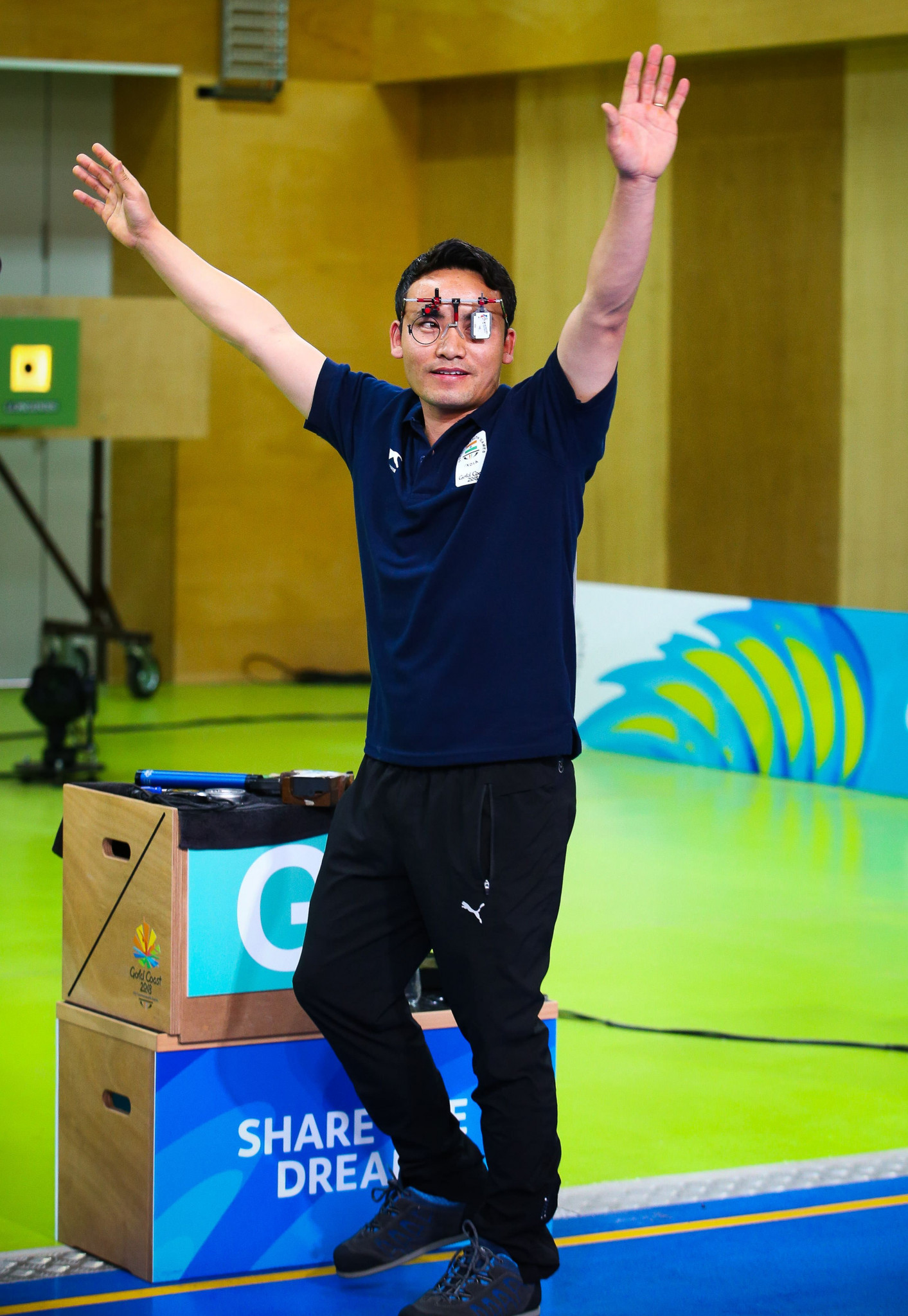 Jitu Rai claimed one of India's seven gold medals as they topped the sport's standings at the Gold Coast 2018 Commonwealth Games ©Getty Images