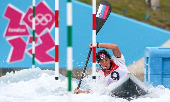 Slovenian Eva Tercelj is targeting home glory as the International Canoe Federation Canoe Slalom World Cup arrives in Tacen, Ljubljana ©ICF
