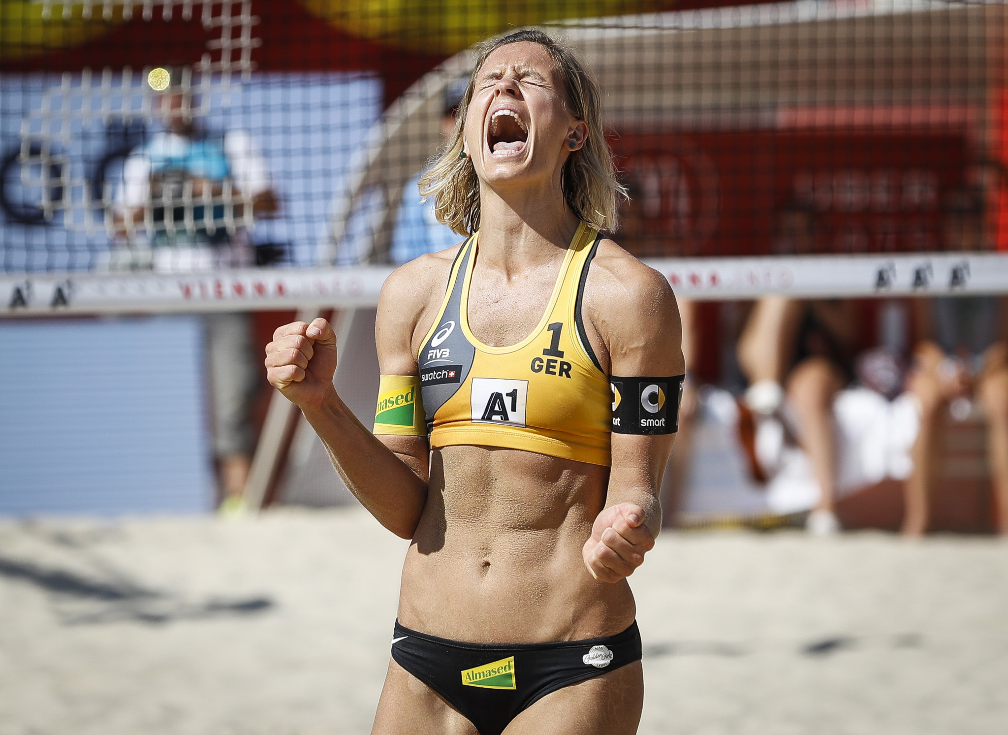 Ludwig seeking second straight title at home Beach Volleyball World Championships in Hamburg