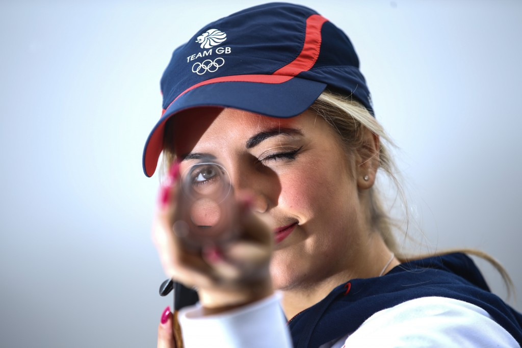 Hill and Kneale to make Olympic debuts after being named in six-strong British shooting team for Rio 2016