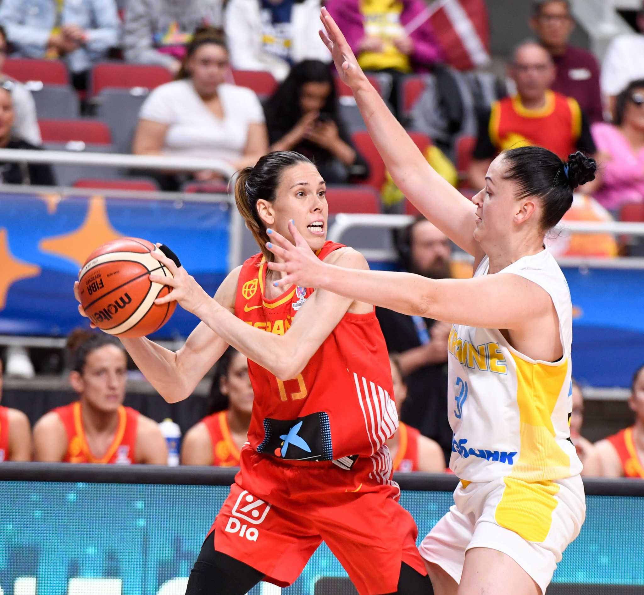 Defending champions Spain win opening match at FIBA Women's EuroBasket