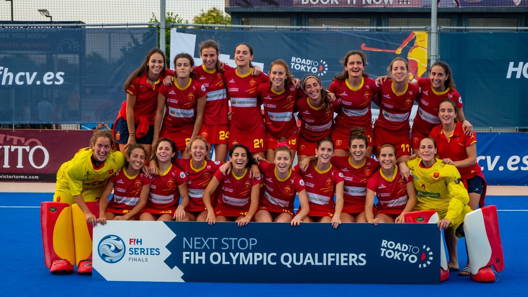 Spain overpower Canada to win FIH Series Finals on home soil