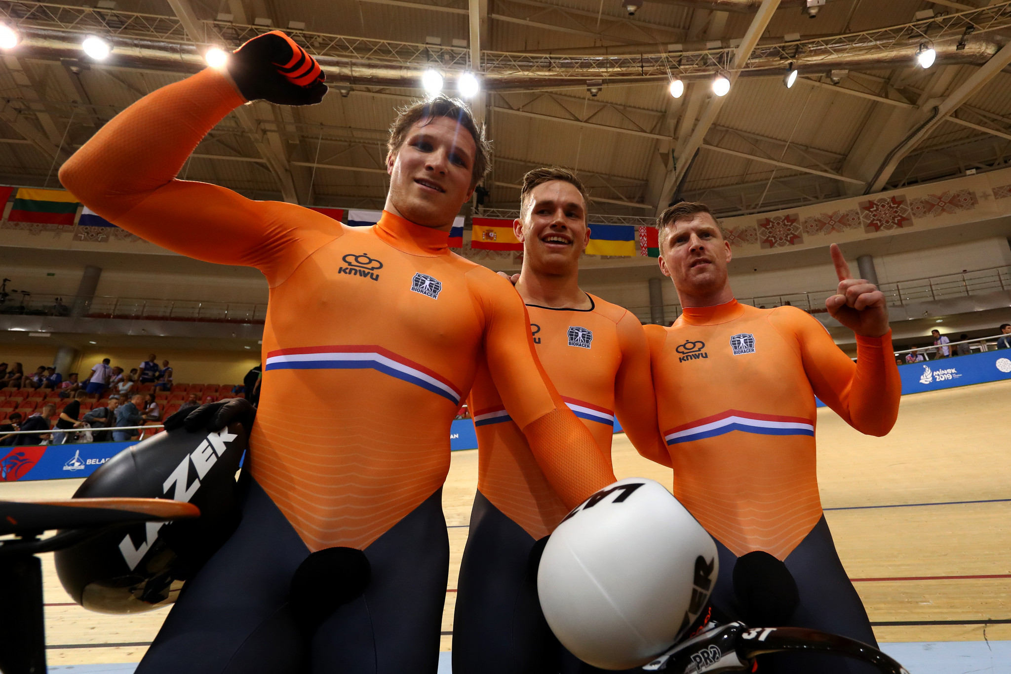 Four nations win gold as track cycling starts at 2nd European Games in Minsk