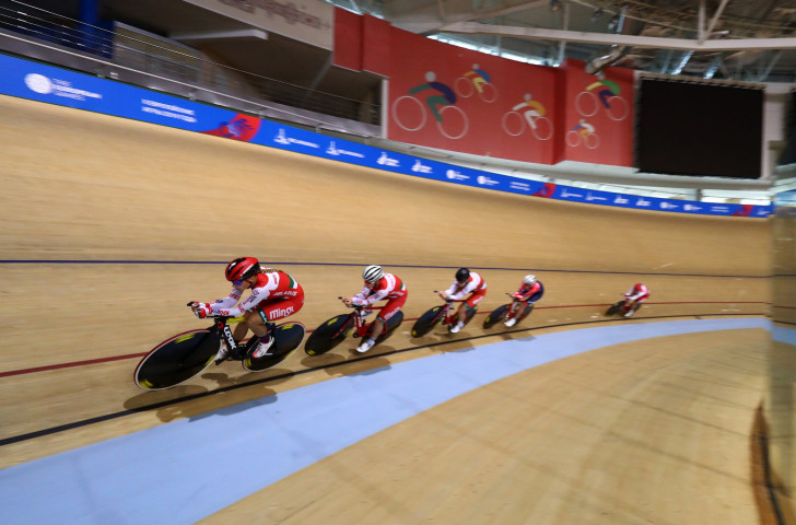 The first night of medals took place tonight in track cycling, making it's European Games debut ©Getty Images