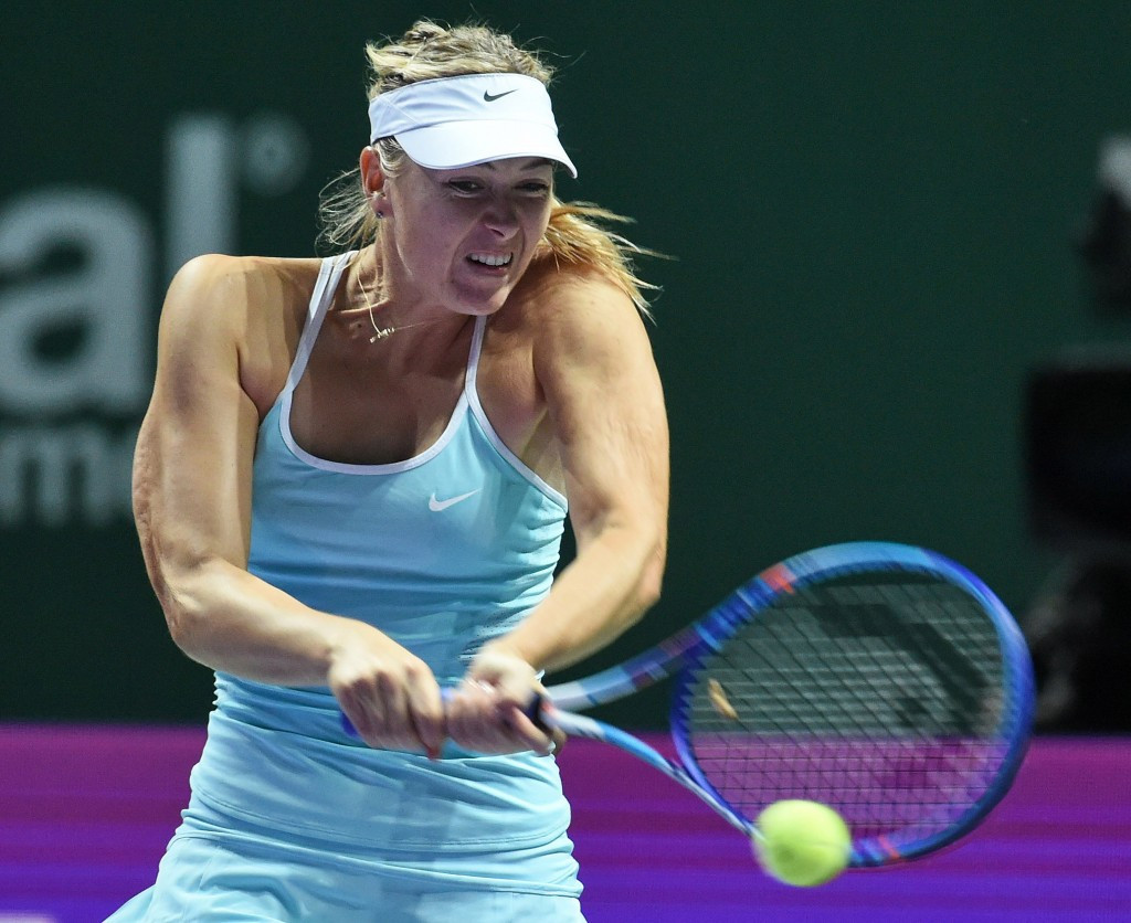 Maria Sharapova has been named in Russia's team for the 2015 Fed Cup final ©Getty Images