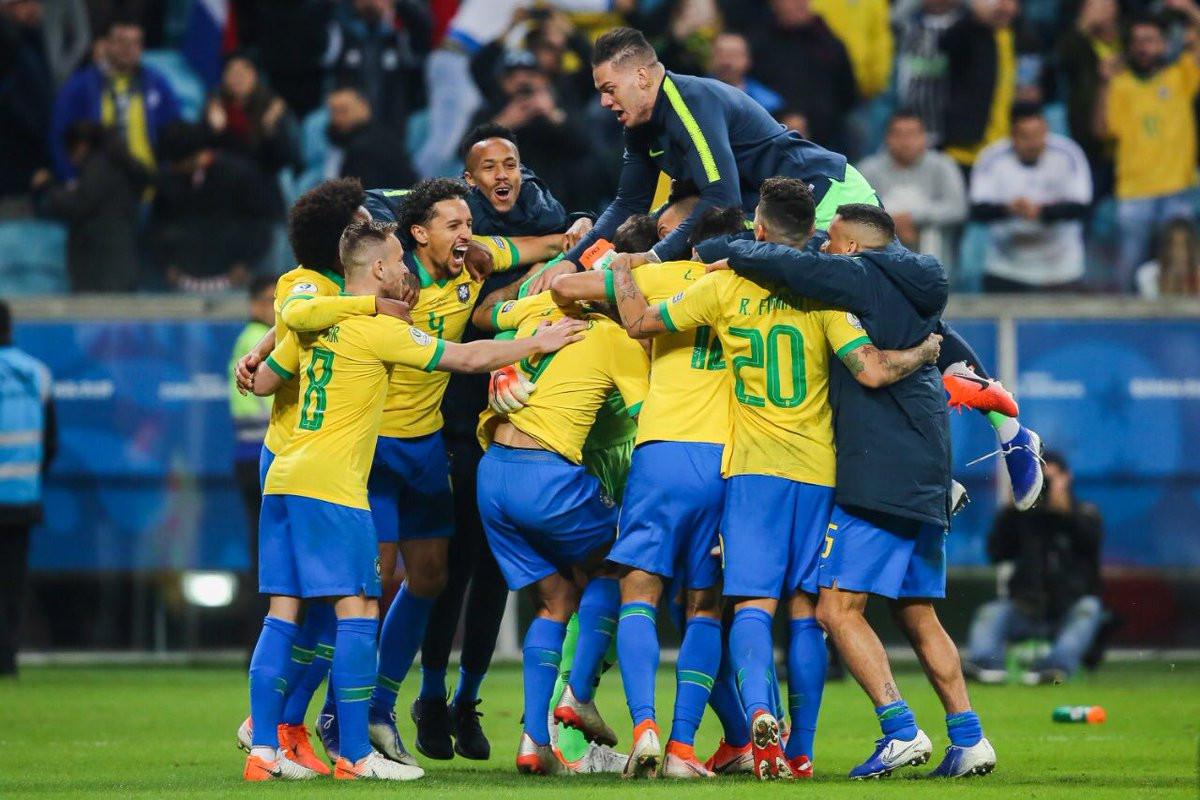 Brazil defeat Paraguay on penalties to reach Copa América semi-finals