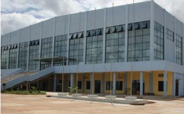 Palais des sports Salamata is playing host to the 2019 African Fencing Championships ©FIE