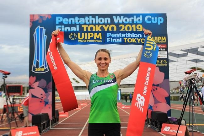 Former Olympic champion Asadauskaitė qualifies for Tokyo 2020 after victory at UIPM World Cup Final