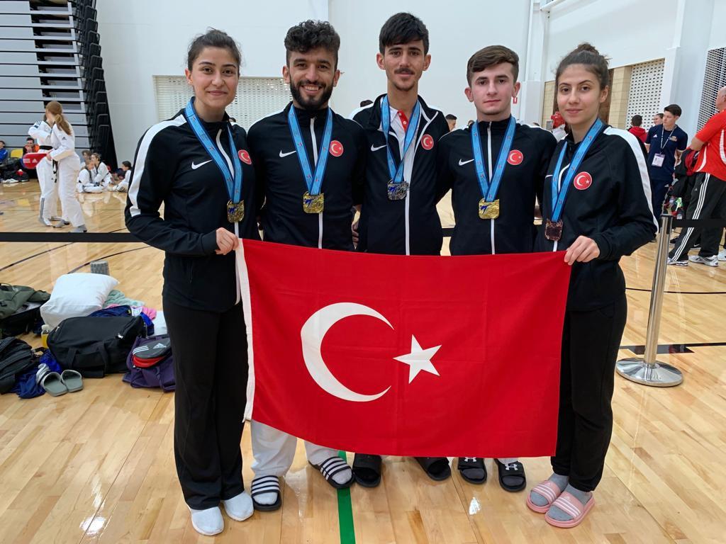 It was a fruitful trip to Queensland for the Turkish team ©Twitter/Turkey Taekwondo Federation