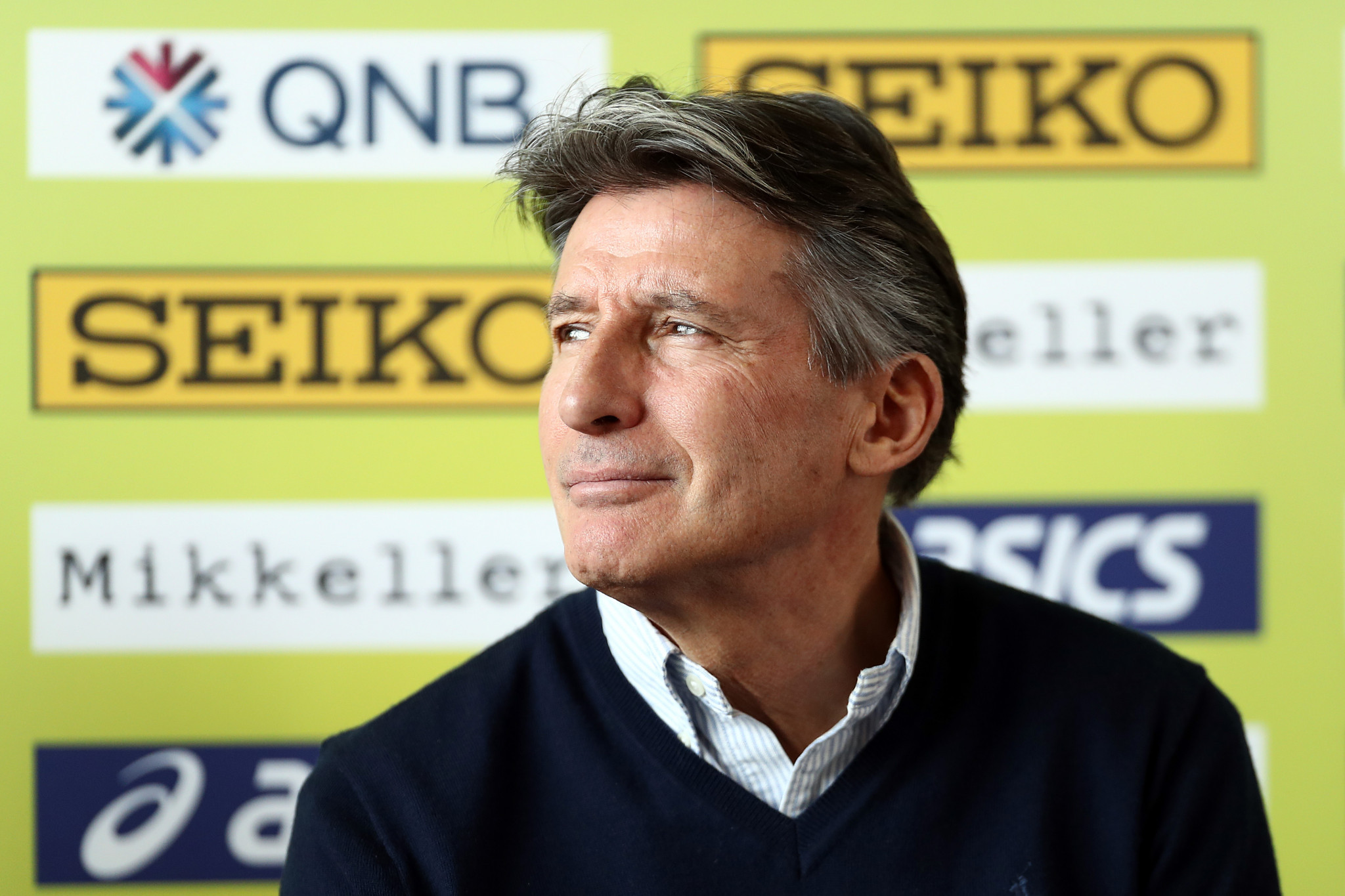 Sebastian Coe is set to be re-elected as President of the IAAF ©Getty Images