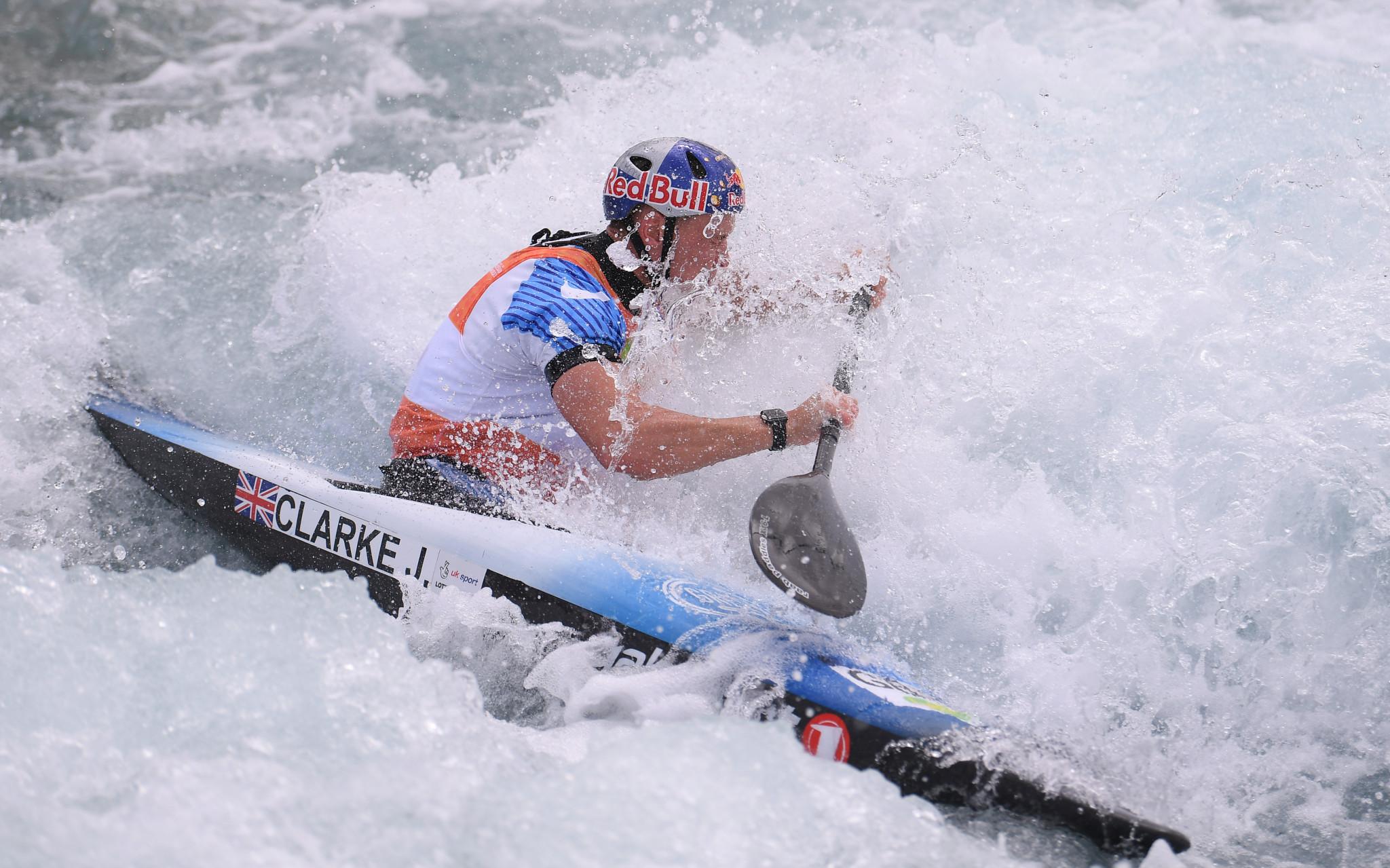 Clarke and Fox star as ICF Canoe Slalom World Cup opens in Ljubljana