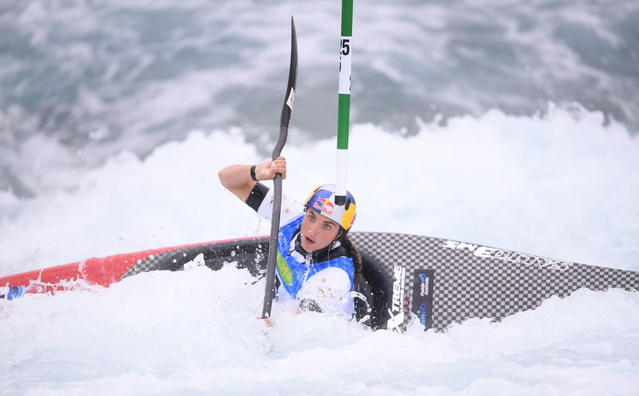 Australian star Jessica Fox was in solid form in the women's C1 and K1 events ©Getty Images