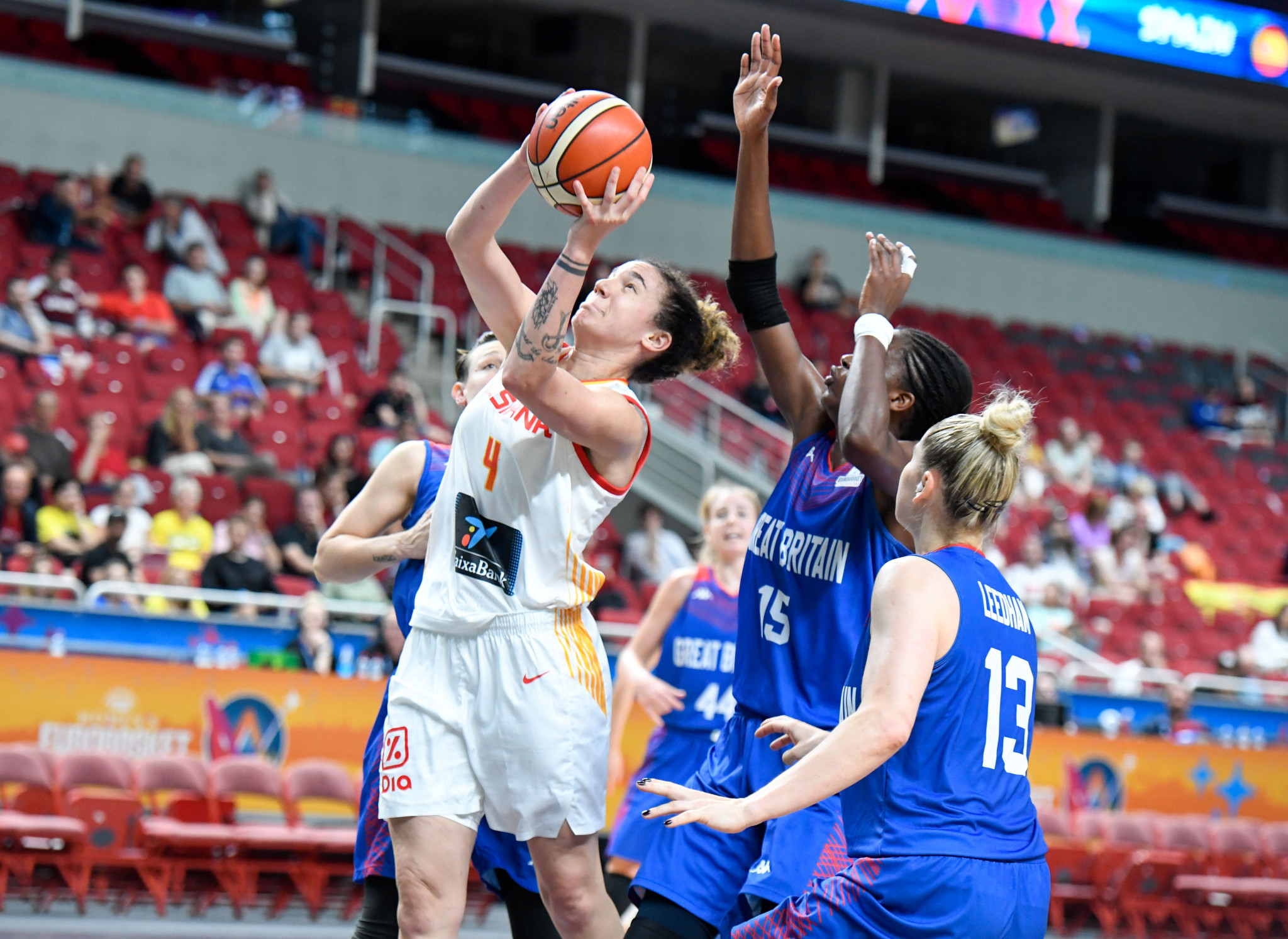 Spain secure second win at FIBA Women's EuroBasket